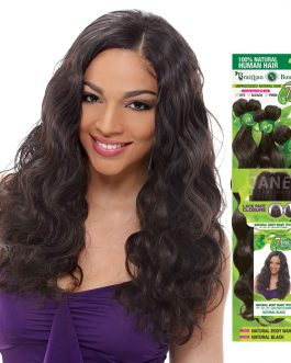 Sensationnel Kanubia Easy 1 Natural Bundle Weave Brazilian Body 16- 22 Inch
