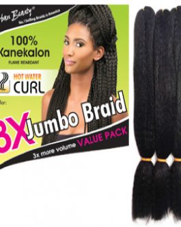 Kanekalon Braid Hair / Synthetic Color Braid Hair